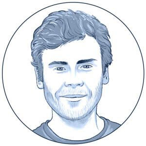 portrait dessin de corentin